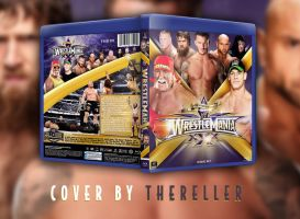 WWE WrestleMania 30 BluRay Cover by TheReller