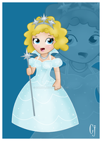 Chibified Glinda by Cor104