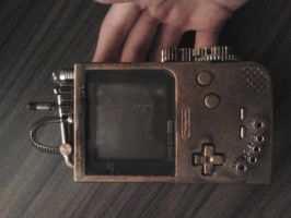 Steampunk GameBoy Pocket by GijsGro