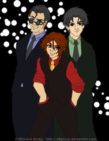 Young Justice goes GQ by elfgrove