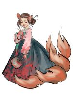 Kumiho for Sketch Dailies by andreascott