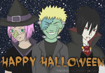 Happy Halloween From Team 7! by TheUsedKilljoy
