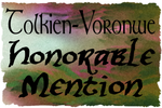 Honorable Mention Badge by The-Tinidril