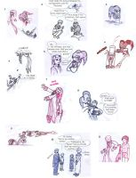 Some painful NiGHTS sketches by Yoyobionicle