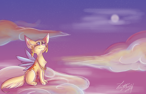 Firefly's Dreamscape by LupusSilvae