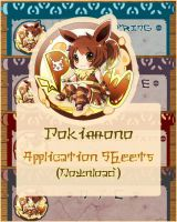 New Pokimono Application Forms by CruzRobin