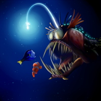 Angler Fish by TinTans