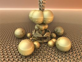 Contraption and Shiny Spheres 1 by CO99A5