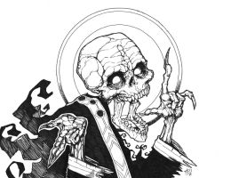 Holy skull by Devolist