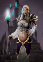 Jaina Proudmoore by Mikesw1234