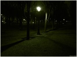 A shelter in the dark by Wiccio