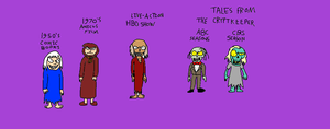 The Many Faces of the Crypt Keeper by LuciferTheShort