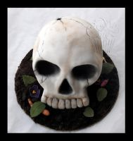 My Skull Cake by CakeUpStudio