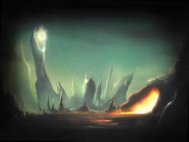 LOTR3: Near Mordor by Prinova by Lord-Of-The-Rings