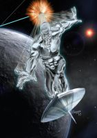 Silver Surfer 2 by Bazza24