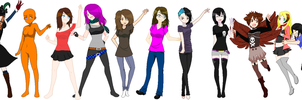 Let Me Pixel Your OC/You! :) CLOSED by Boo247