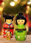 Adorable Japanese Dolls by theresahelmer