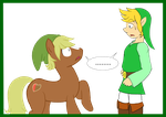 Link meet Link by Paladin0
