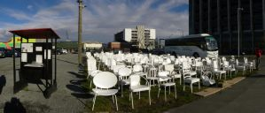 185 Empty Chairs by RiverKpocc