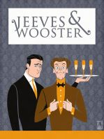 Jeeves and Wooster by ALCook