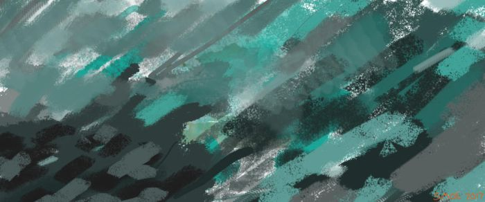 Abstract Blue Thing by Smoe05