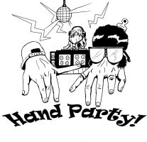 Hand Party by murader191