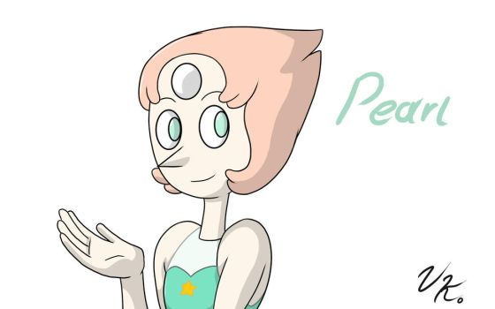 Pearl from Steven Universe! by Vega-kun
