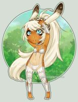 Coquettish viera by Noiry