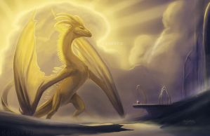 Summon Dragon Speedpaint by Kamakru