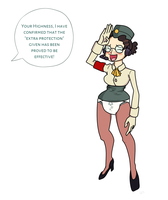 Testing for Uniform Upgrades - Skullgirls Diapered by downloadfriends