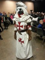 Templar Doctor cosplay by FlameCurry
