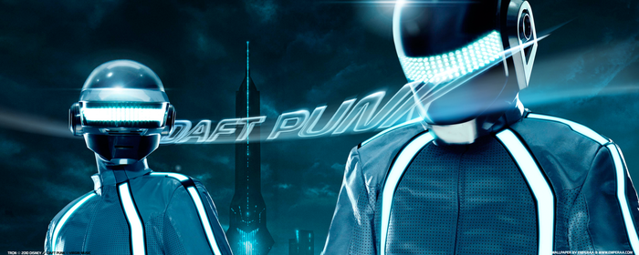 Daft Punk Tron Legacy Wide by emperaa