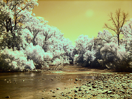 IR River by electricjonny