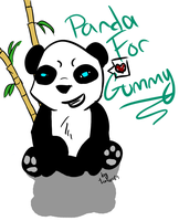 .:Panda for Gummy:. by Lurker89