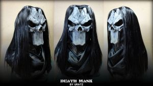 Darksiders Death Bust Mask by Uratz-Studios