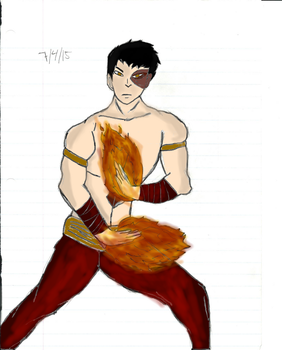 Zuko-ATLA -Colored by UnusSicutIgnisEtAqua