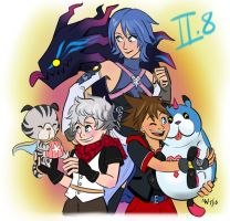 KH - 2.8 Heroes by LynxGriffin