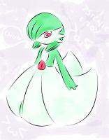 Gardevoir :3 by Yui-the-Echidna