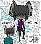 Maxwell Reference by ForsakenSong