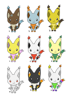 New querlox point adoptables-closed by Chigle