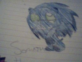 Sonikku the chao RQ by Uxiethecat