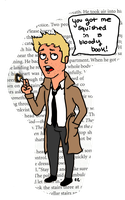Constantine Book Mark by TheSimpsonsFanGirl