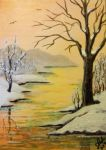 ACEO Frosty Morning #2 by annieoakley64
