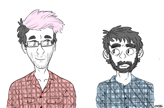 Flannel Bros  by casjoinedstarfleet
