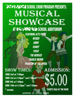 Musical Showcase Poster by SonicRocksMySocks