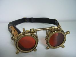 Steampunk Goggles by Zackary