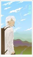 Ginko's Endless Journey by broom-rider