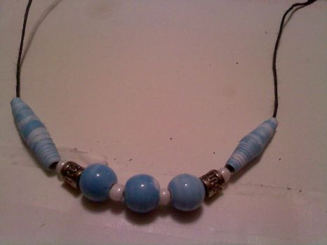 Beaded Necklace 1 by blondishnet