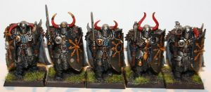 warriors of chaos back rank by paelkeizah