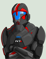 N7 Armor Concept Art by Namz89